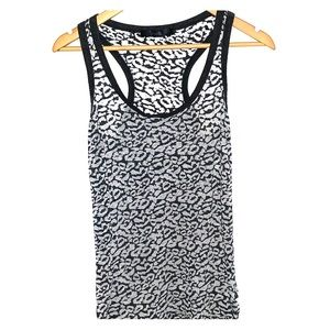 Tops - Racerback burn out tank top